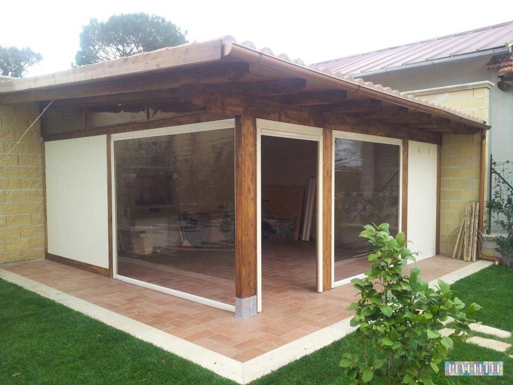 Tende Veranda Cristal : Tende veranda piattelli